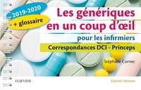 Les génériques en un coup d'oeil pour les infirmiers- Correspondances DCI - Princeps - Stéphane Cornec pdf epub