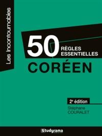Télécharger ibooks for ipad gratuitement Coréen  - 50 règles essentielles par Stéphane Couralet RTF PDF in French