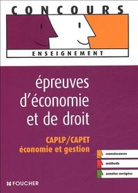 Epreuves déconomie et de droit - CAPLP/CAPET Economie et gestion.pdf