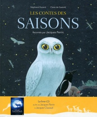 Stéphane Durand et Claire de Gastold - Les contes des saisons. 1 CD audio