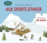 Stéphane Frattini et Maud Legrand - Aux sports d'hiver - Avec un puzzle surprise.
