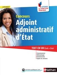 Stéphane Gachet et Philippe Margenti - CONCOURS ADMIN  : Adjoint administratif d'état - Catégorie C - 2015 - Format : ePub 3 FL.
