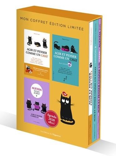 Stéphane Garnier - Coffret Agir et penser comme un chat en 2 volumes : Agir et penser comme un chat ; Agir et penser comme un chat saison 2 - Dont l'agenda 2020 offert.