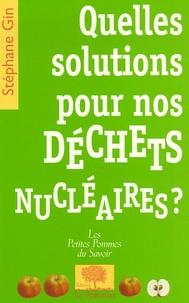 Accentsonline.fr Quelles solutions pour nos déchets nucléaires ? Image