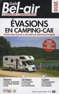 Stéphane Goulhot et Constance Lameignere - Guide Bel-Air camping-caravaning - Evasions en camping-car.