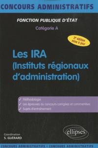 Stéphane Guérard - Les IRA (instituts régionaux d'administration).