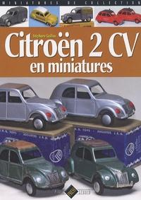 Stéphane Guillou - Citroën 2 CV en miniatures.