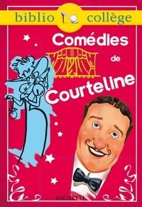 Stéphane Guinoiseau - Bibliocollège - Comédies de Courteline - n° 69 - La Peur des coups - Les Boulingrin - La Paix chez soi.