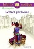 Stéphane Guinoiseau et Charles-Louis De Montesquieu - Bibliocollège - Lettres persanes, Montesquieu.