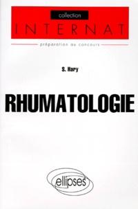 Stéphane Hary - Rhumatologie.