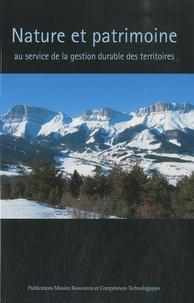 Stéphane Héritier - Nature et patrimoine au service de la gestion durable des territoires.