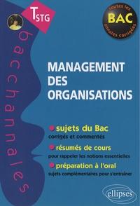 Stéphane Jacquet - Management des organisations Tle STG - Epreuves écrites et orales.