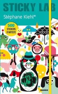 Stéphane Kiehl - Sticky lab de Stéphane Kiehl - 500 stickers d'artiste.