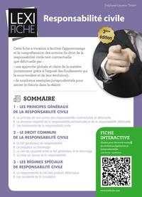 Stéphane-Laurent Texier - Responsabilité civile.
