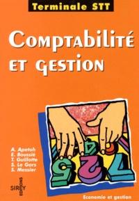Stéphane Le Gars et Apollinaire Apetoh - Comptabilité et gestion, terminale STT.