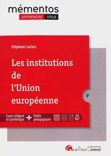 Les institutions de l'Union européenne 8e édition