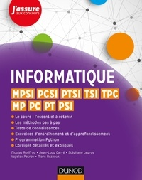 Informatique - MPSI, PCSI, PTSI, TSI, TPC, MP, PC, PT, PSI.