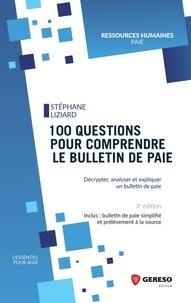 Télécharger des livres électroniques epub gratuitement 100 questions pour comprendre le bulletin de paie