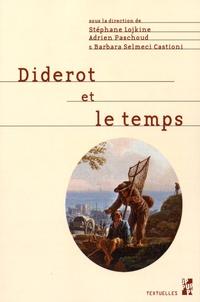 Stéphane Lojkine et Adrien Paschoud - Diderot et le temps.