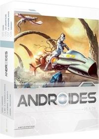 Stéphane Louis et Christophe Bec - Androides Saison 2 : Coffret en 4 volumes - Tome 5, Synn ; Tome 6, Les déserteurs ; Tome 7, La dernière ange ; Tome 8, Odissey.