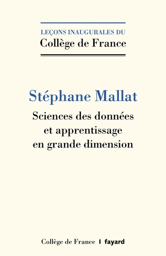 Sciences Des Donnees Et Apprentissage En Grande Dimension Poche