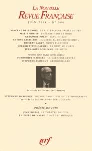 Stéphane Massonet - La Nouvelle Revue Française N° 586 : Le siècle de Claude Lévi-Strauss - Juin 2008.
