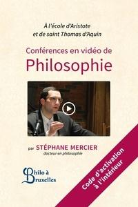 Stéphane Mercier - Conférences de philosophie en vidéo.