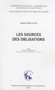 Stéphane Obellianne - Les sources des obligations.