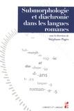 Stéphane Pagès - Submorphologie et diachronie dans les langues romanes.