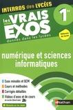 Stéphane Pasquet - Numérique et sciences informatiques 1re - Les vrais exos donnés dans les lycées.