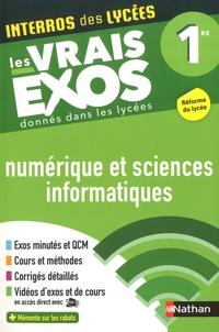 Stéphane Pasquet - Numérique et sciences informatiques 1re.