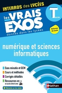 Stéphane Pasquet et Mikaël Leopoldoff - Numérique et sciences informatiques Tle.
