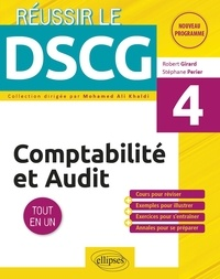 Libérer un téléchargement de manuel Comptabilité et audit DSCG 4  - Tout en un par Stéphane Perier, Robert Girard