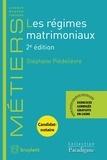 Stéphane Piedelièvre - Les régimes matrimoniaux.