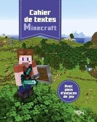 Stéphane Pilet - Cahier de textes Minecraft.