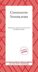 Stéphane Poliakov - Constantin Stanislavski.