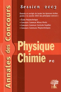 Physique et Chimie PC - Session 2003.pdf