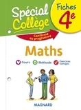 Stéphane Renouf - Fiches Maths 4e Spécial Collège.