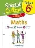 Stéphane Renouf - Fiches maths 6e Spécial Collège.