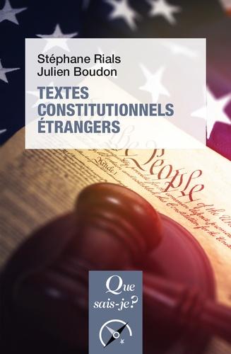 Textes constitutionnels étrangers 16e édition