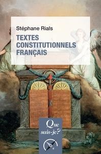 Ebooks en ligne gratuits sans téléchargement Textes constitutionnels français 9782130811954 par Stéphane Rials