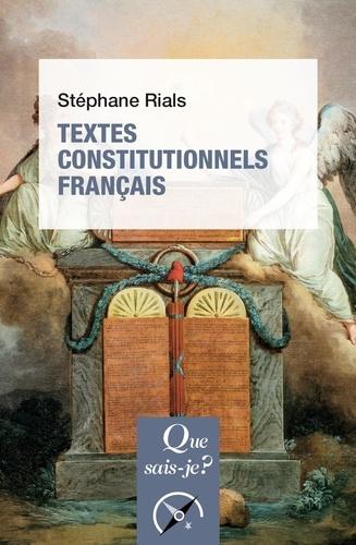 Textes constitutionnels français 30e édition