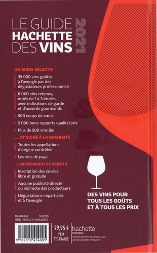 Le guide Hachette des vins  Edition 2021