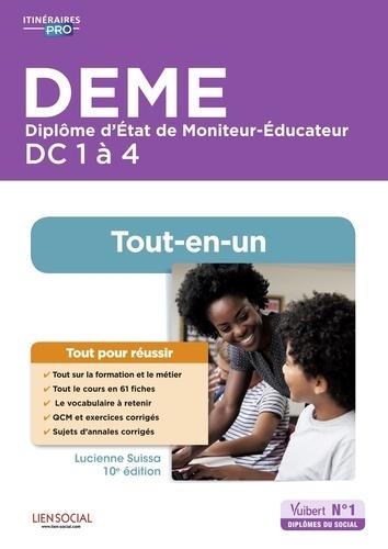 DEME Diplôme d'Etat de Moniteur-Educateur DC 1 à 4. tout-en-un