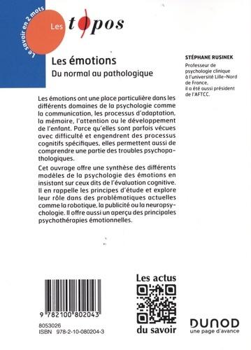 Les émotions. Du normal au pathologique