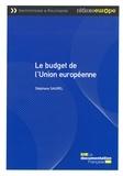 Stéphane Saurel - Le budget de l'Union européenne.