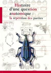 Stéphane Schmitt - Histoire d'une question anatomique - La répétition des parties.