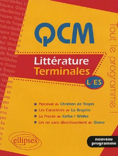 Stéphane Sialac - QCM Littérature - Terminales L/ES.