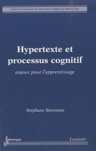 Hypertexte et processus cognitif - Enjeux pour lapprentissage.pdf