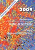 Stéphane Texier - Adaptation scolaire et scolarisarion des élèves handicapés - Textes de référence Volume 2, Administration et législation des secteurs social, médico-social et sanitaire.